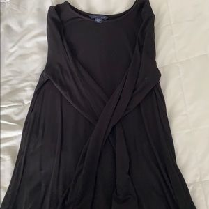 small black long sleeve american eagle dress
